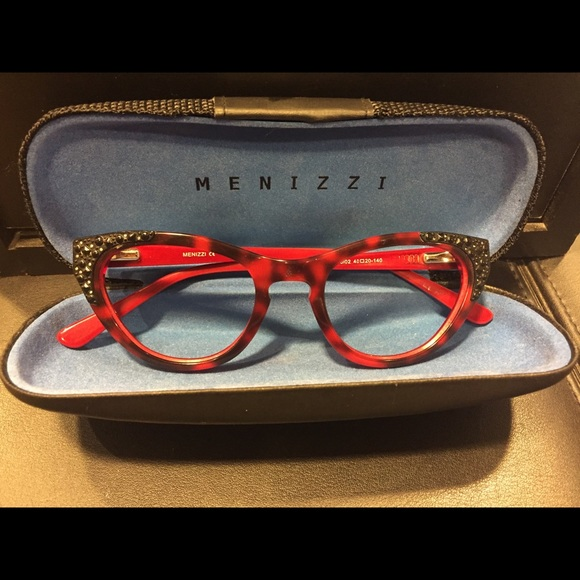 baafdab964a Red Cateye Glasses by Menizzi. M 5abd548f739d480a36ef68d1